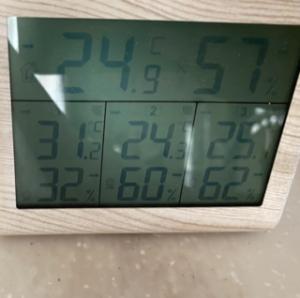 の 温度 今日